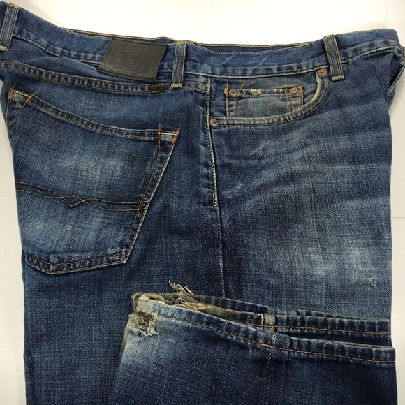 Lucky Brand Other - Lucky Vintage Straight Distressed Jeans 36x30